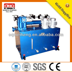 XYZ-6G Thin Oil Lubrication Station fine river water purification system for africa