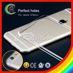 OEM 0.3mm ultra thin for iphone 6 tpu case for iphone 6 soft case tpu for iphone 6 case