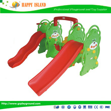 Factory Price CE GS SASO Food Grade Love Bears Double Sliding combined swing and slide