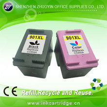 for hp 901/ CC653AN tri-color ink cartridge officejet