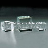 crystal block for engraving