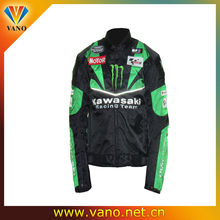 Fashion scooter and dirt bike jacket motorcycle black color