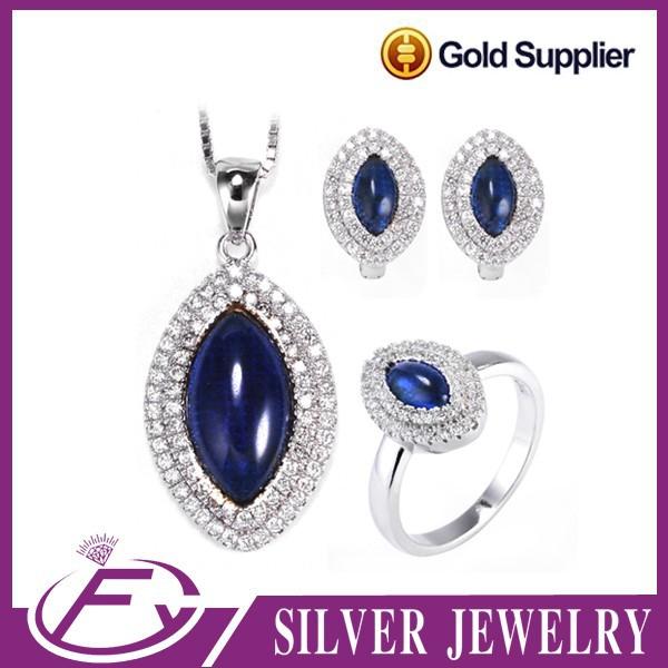 noble 925 sterling silver gemstone dubai imitation