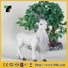 Custom made christmas ornaments long beard soft toy goat
