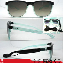 bluetooth sunglasses with changeable frame &temple