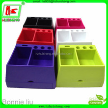 colorful plastic pencil case for school and office