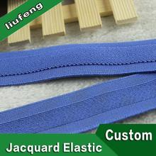 25mm custom elastic bands black polyester logo webbing for luggage belt