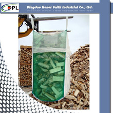 pp bulk bag/ vented big bag packing firewood 1000kg