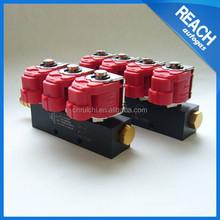 Lpg / gnc rampa de inyección del inyector del carril ( rail inyección ) para lpg / gnc sistema de inyección secuencial