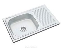 middle east hot sales stainless steel sink, single bowl single tary sink,kitchen sink(74*44*15)/SANXIN