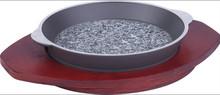 Mini granite round fry pan