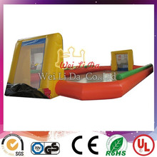 High quality inflatable kids football pitch