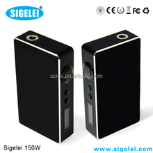 Sigelei 75W Watt Variable Wattage Box Mod in stock/Sigelei wholesale price/Sigelei 150 Watt mod box