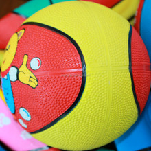 New manufacture lowest price rubber bouncing basketball