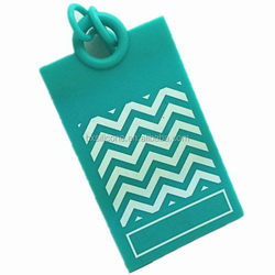 Alibaba china Crazy Selling silicone luggage tag with strap