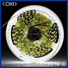 60 leds/m 5050 smd high lumen black pcb led flexible strip single color