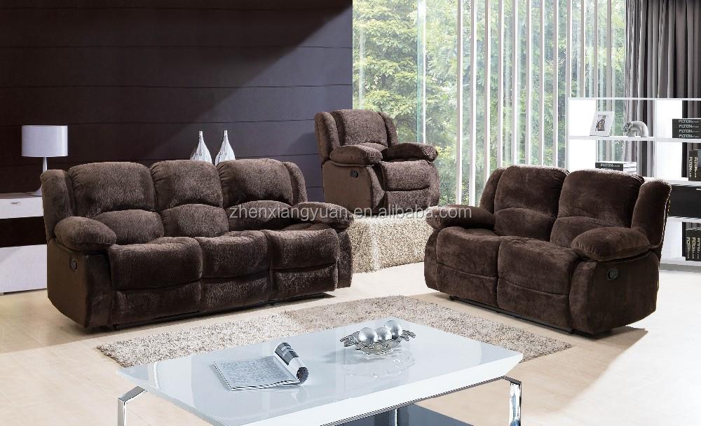 2015 Living Room Products Comfortable Recliner Sofa Set