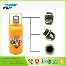 Good price best quality aluminum yellow water bottle with a tiger logo