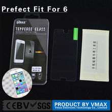 Trade Assurance !! Free Sample 0.2mm 9H Hardness Anti-Oil Mobile Phone tempered glass film screen protector for iphone 6