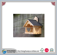 Wooden bird cage without front door