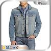 wholesale warm men's fall denim coat & jacket ,OEM service, outwear denim men's