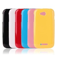 Jelly Color TPU Soft Back Cell Phone Case Cover For Lenovo A706