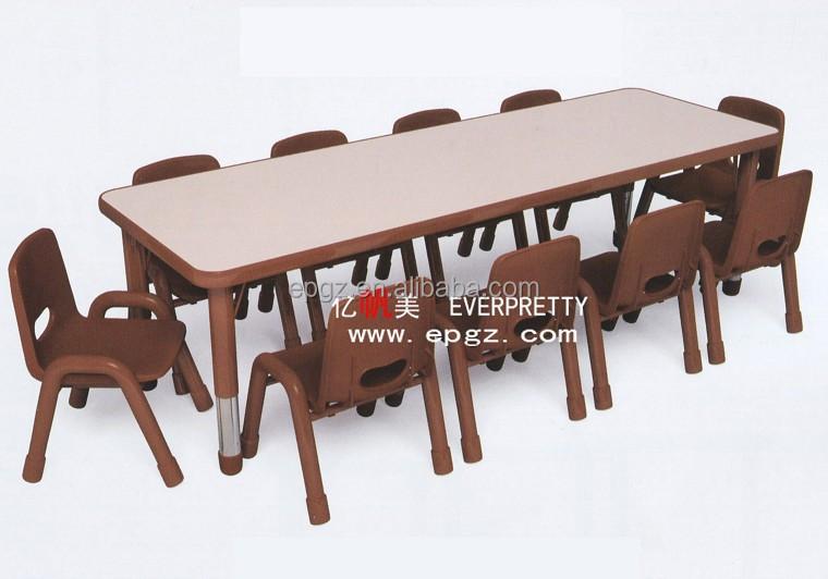 haute qualit utilis garderie meubles haute qualit fleur forme garderie enfants table. Black Bedroom Furniture Sets. Home Design Ideas