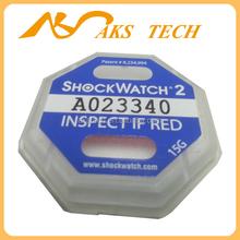 l Shockwatch 2 shock indicator sensor 15G blue impact labels printing