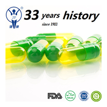 Alibaba china supplier green yellow halal capsules health product empty capsule