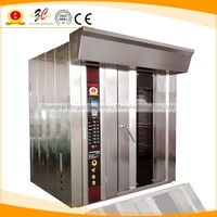 36 trays electric rotary deck bread oven, high efficient convection oven, electric bread baking oven