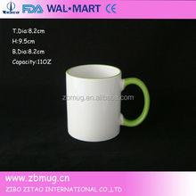 ceramic yiwu sublimation mug for heat transfer printing