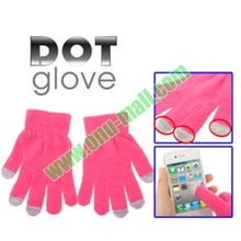 Dot Glove of Touch Screen for Smart Phones for iPhone 4S/5S/4/4, for iPad/Blackberry/HTC and others