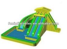 Jumping Castles Inflatables With Slide Pool