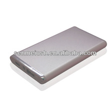 unique power bank with replaceable battery bavin power bank (five adpaters +cable line) all in one style for your choice