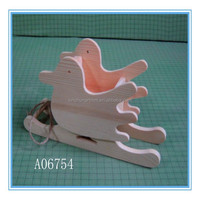 Hot selling small wooden toy wooden crafts wholesale