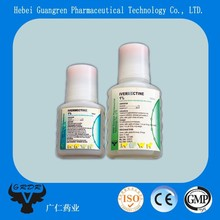 Ivermectin Injection 1% for dogs/sheep parasite/wormer veterinary medicine