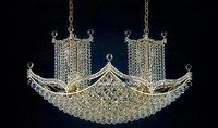 hanging indoor decoration mosque crystal chandelier