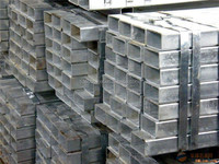 BS/ASTM A500 ERW welded hot dipped galvanized steel hollow section