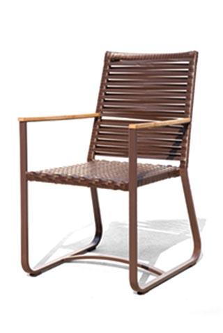 줄리 2015 야외 위커 강화 유리 식사 테이블과 의자 funiture-정원 ...