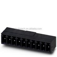 PHOENIX mini male plug terminal block parallel to the pcb 3.81mm pitch