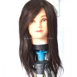 """common female hairdresser mannequin head 18"""""""