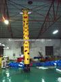 la columna inflable bailarín del aire