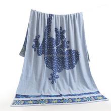 Large Size Bath Sheet, Beach Towel Children Printing Cartton Design Towel