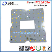 2015 high quality with aluminium PCB for led lighting,single side LED PCB design in China
