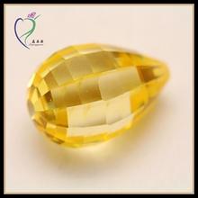 Golden Teardrop uncut rough diamond for sale