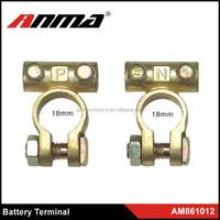 Car Digital Battery Terminal Positive & Negative Set, Gauge AWG Car Battery Terminal