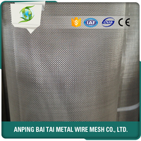 stainless steel diamond wire mesh used for grating, fence and window screen