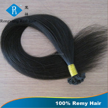 Fashion Luxury Product Single Drawn Nail Tip Remy Hair Extension