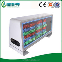 Car display taxi top led display led advertising digital display board