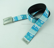 Sports Fashion Canvas Belt with Metal Buckle, OEM Orders are Welcome